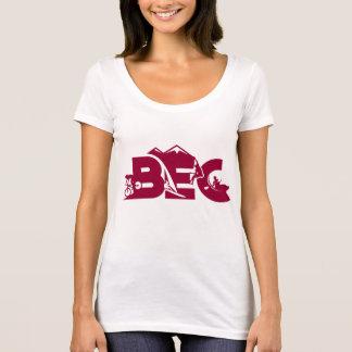 T-shirt Pièce en t décontractée des sports des femmes de