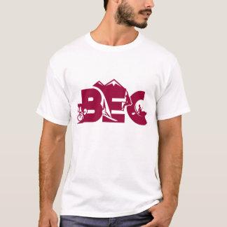 T-shirt Pièce en t décontractée unisexe de coton de BEC