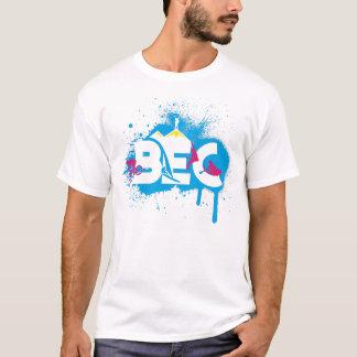 T-shirt Pièce en t décontractée unisexe d'édition de BEC