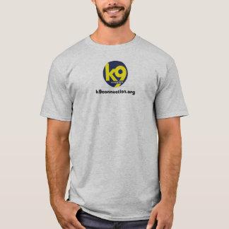 T-shirt pièce en t d'empreinte de pas/pawprint de la
