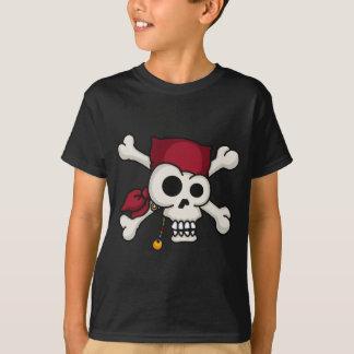 T-shirt Pièce en t d'enfants d'os croisés du crâne N