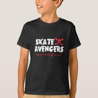 T-shirt PIÈCE EN T d'ENFANTS - vengeurs de patin -