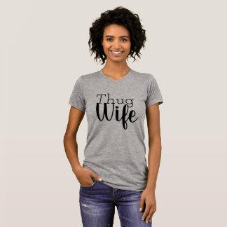 T-shirt Pièce en t d'épouse de voyou