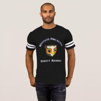 T-shirt Pièce en t d'équipe de tir à l'arc de fac