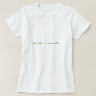 T-shirt PIÈCE EN T d'Esthetician