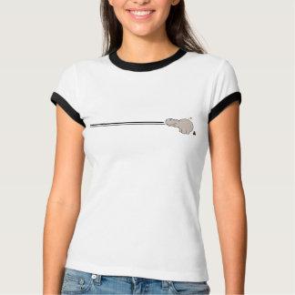 T-shirt Pièce en t d'hippopotame