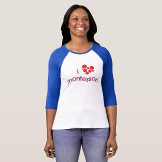 T-shirt Pièce en t d'I <3 Montessori