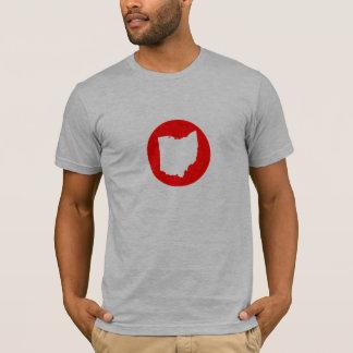 T-shirt Pièce en t d'icône de l'Ohio