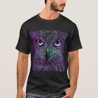 T-shirt Pièce en t d'impression de hibou