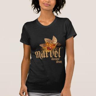 T-shirt Pièce en t d'insecte d'objet façonné