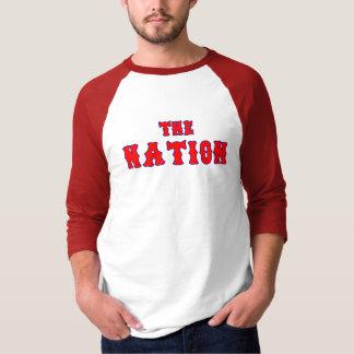 T-shirt Pièce en t douce de base-ball de Caroline