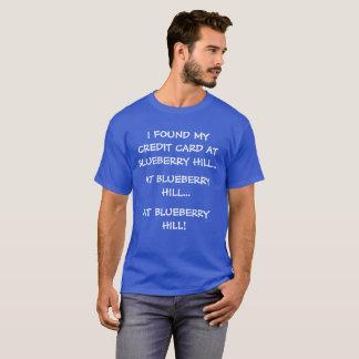 T-shirt Pièce en t drôle de colline de myrtille