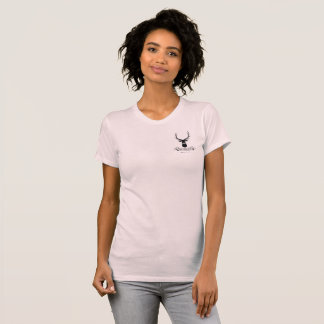 T-shirt Pièce en t du DCRPL des femmes (rose-clair)