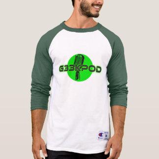 T-shirt Pièce en t du jersey 3/4 de G33kpod