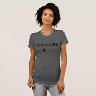 T-shirt Pièce en t du Jersey comme de Spoonie des femmes