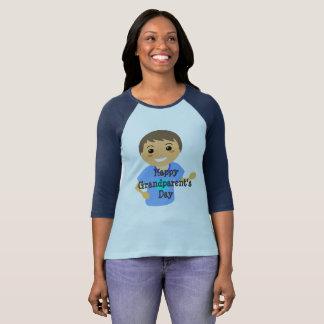T-shirt Pièce en t du jour du grand-parent heureux