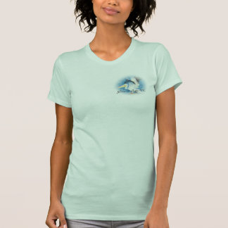 T-shirt Pièce en t du pélican 17 d'aquarelle