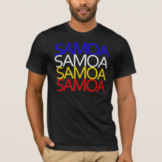 T-shirt Pièce en t du Samoa