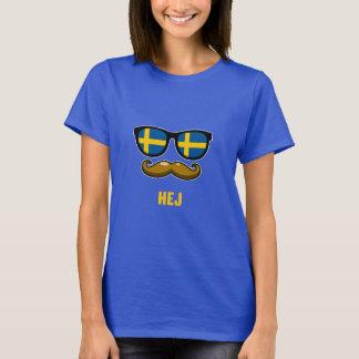 T-shirt Pièce en t du Suédois IM des femmes