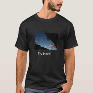 T-shirt Pièce en t dure d'essai