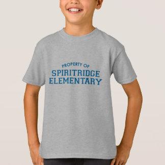 T-shirt Pièce en t élémentaire d'enfants de Spiritridge