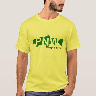 T-shirt Pièce en t en acier du nord-ouest Pacifique