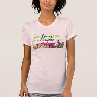 T-shirt Pièce en t en avant de dames de ressort