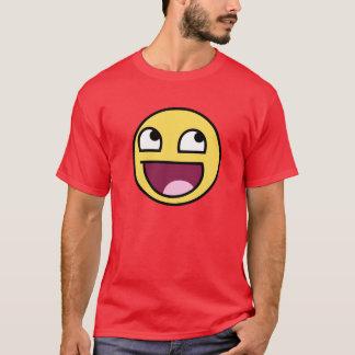 T-shirt Pièce en t épique d'adulte de visage