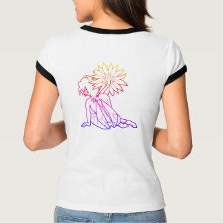 T-shirt Pièce en t équilibrée de fille de Gerbera (couleur