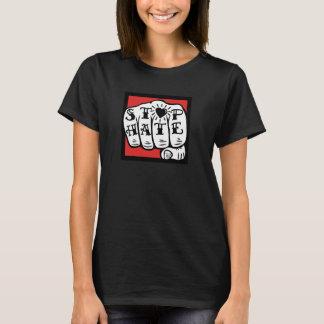 T-shirt Pièce en t essentielle de haine d'arrêt