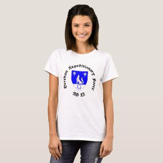 T-shirt Pièce en t expéditionnaire de dames
