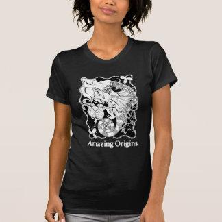 T-shirt Pièce en t extraordinaire de dragon d'origines