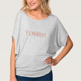 T-shirt Pièce en t féministe simple