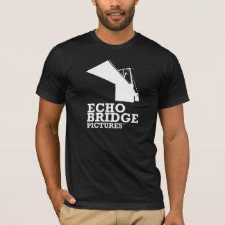 T-shirt Pièce en t foncée de pont d'écho (hommes)