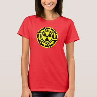 T-shirt Pièce en t fraîche RADIOACTIVE de ballot de geek