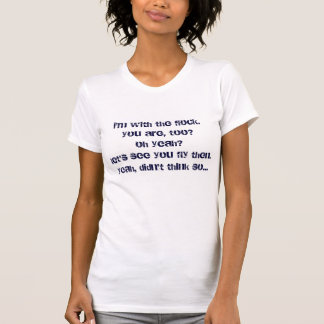 T-shirt pièce en t gonflée de tour maximum