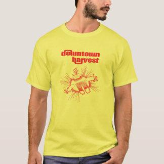 T-shirt Pièce en t grasse de ketchup et de moutarde
