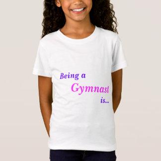 T-Shirt pièce en t gymnastique inspirée