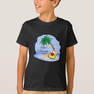 T-shirt Pièce en t hawaïenne 5 de Noël de se baigner de