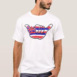 T-shirt Pièce en t hawaïenne de types de chaîne d'île de