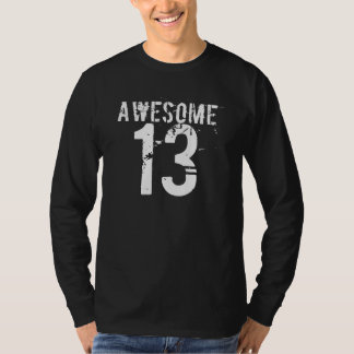 T-shirt Pièce en t IMPRESSIONNANTE de 13 ANNIVERSAIRES de