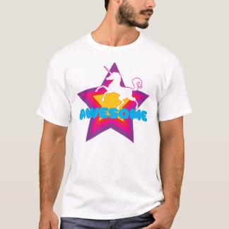 T-shirt Pièce en t impressionnante de licorne
