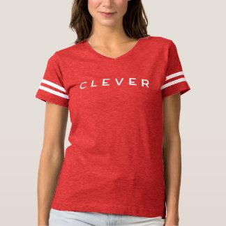 T-shirt Pièce en t INTELLIGENTE d'esprit d'équipe de