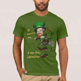 T-shirt Pièce en t irlandaise drôle de lutin de péter