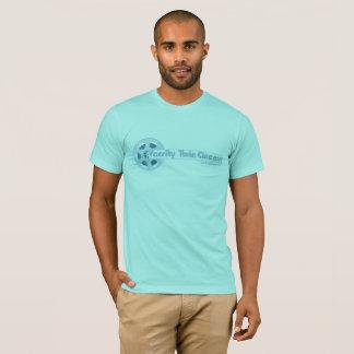T-shirt Pièce en t jumelle de cinéma de fac (Baton Rouge)
