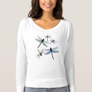 T-shirt Pièce en t lâche de libellule
