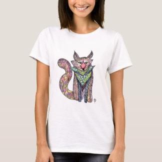 T-shirt Pièce en t lunatique de coutume de Fox