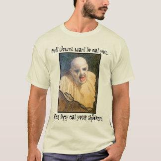 T-shirt Pièce en t mauvaise de clown