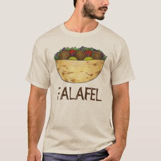 T-shirt Pièce en t méditerranéenne de nourriture de