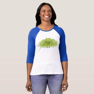 T-shirt Pièce en t mobile de base-ball de CSP